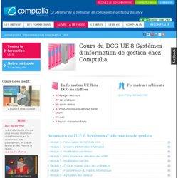 Cours du DCGUE 08 - Systèmes d'information de gestion chez Comptalia