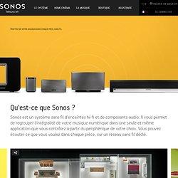 Systèmes de musique hi-fi sans fil de Sonos