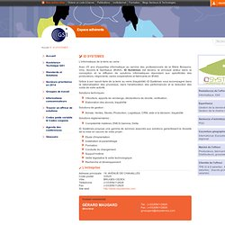 ID SYSTEMES / Offreurs de solutions / Espace adhérents -