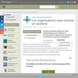 Analyse et approche systémique : comprendre l'organisation