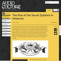 The Rise of the Sound Systems in Aotearoa - Scene
