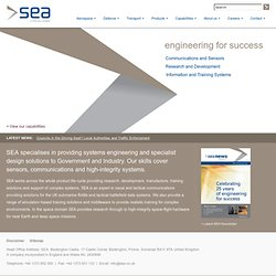 SEA (Systems Engineering & Assessment Ltd)