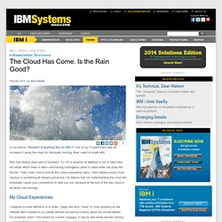 iSeries AS/400 System i Power Systems