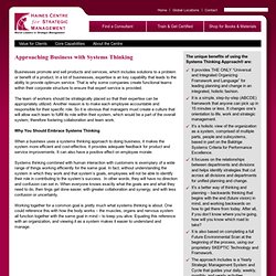 Systems Thinking by HainesCentre.com