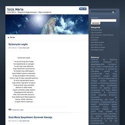 www.szuzmaria.com