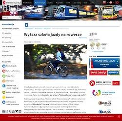 Wyższa szkoła jazdy na rowerze