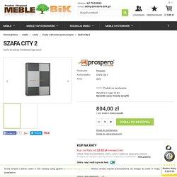Szafa City 2 - Prospero - sklep meblowy Meble BIK