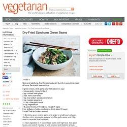 Dry-Fried Szechuan Green Beans Recipe
