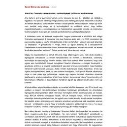 Alan Kay - Csontváz a szekrényben - a számítógépek (mi)haszna az oktatásban (fordítás)
