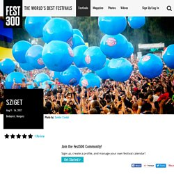 Sziget - Photos, Videos, and Festival Information