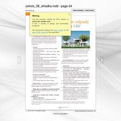 Życie Szkoły, 9/ 2013, Klasowe rady na różne odpady z kartami pracy, Izabela Breguła