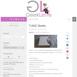 T.I.M.E. Stories - GeekLette