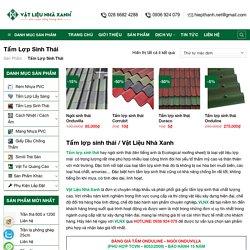Tấm Lợp Sinh Thái Giá Sỉ Tại Kho / Ngói Sinh Thái