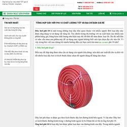 TỔNG HỢP dây hơi phi 10 CHẤT LƯỢNG tốt và địa chỉ bán GIÁ RẺ
