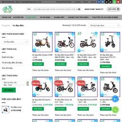 Tổng hợp 30+ mẫu xe đạp điện mới nhất hiện nay – Phố Xe Điện