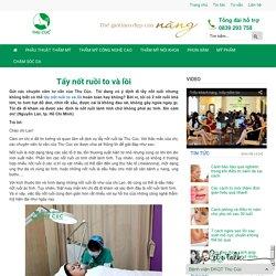 Tẩy nốt ruồi to và lồi-Thu Cúc Sài Gòn