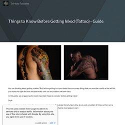 Ta Moko Tattooist