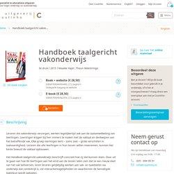 Handboek taalgericht vakonderwijs.