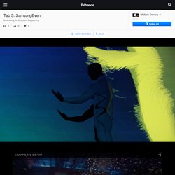 Tab S. SamsungEvent on Behance