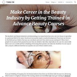TABA UK - Make Career in the Beauty Industry
