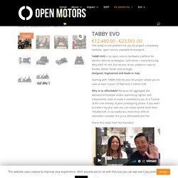 TABBY EVO - Open Motors®