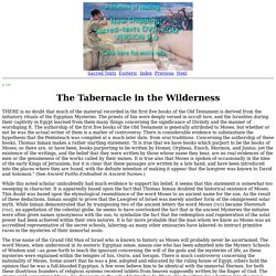 Secret Teachings of All Ages: The Tabernacle in the Wilderness