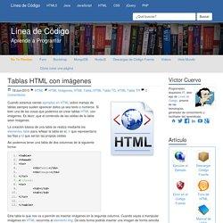 Tablas HTML con imágenes - Línea de Código
