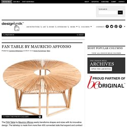 FAN Table by Mauricio Affonso