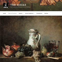 Table of Contents – The Josias