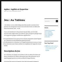 Jeu : Au Tableau – Agilex : Agilité et Expertise