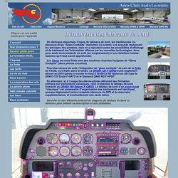 Tableau de bord DR400-180 interactif