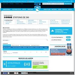 Ski en Corse - Liste et tableau comparatif des stations de ski de Corse