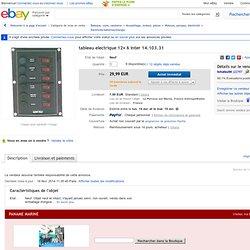 tableau electrique 12v 6 inter 14.103.31 en vente sur eBay.fr (fin le 04-mai-14 14:01:23 Paris)
