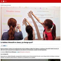 Le tableau interactif en classe, ça change quoi?