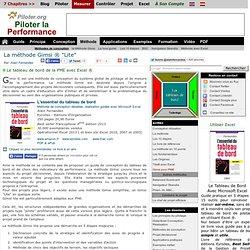 Le tableau de bord de la PME avec Excel : La methode Gimsi Lite.