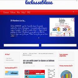 CE1-Les outils pour la classe-Le tableau de services