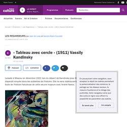 « Tableau avec cercle » (1911) Vassily Kandinsky