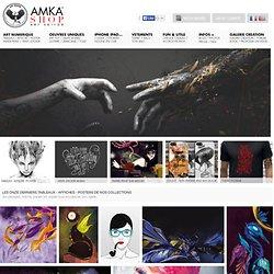 Posters, tableaux, affiches et produits de l'art numérique - AmkaShop.com