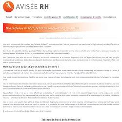 Nos tableaux de bord, outils du contrôle de gestion RH - Avisée RH