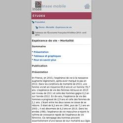 Mobile - Tableaux de l'Économie Française N°édition 2014 - avril 2014