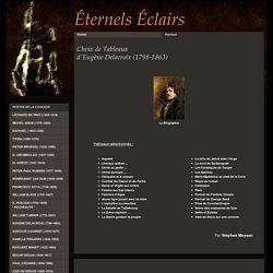 Tableaux d'Eugène Delacroix