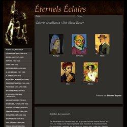 Der Blaue Reiter : tableaux de Münter - Macke - Marc - Jawlensky - Delaunay - Feininger
