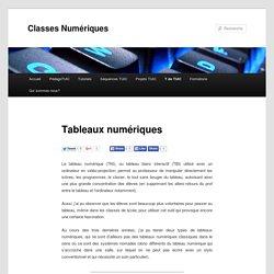 Tableaux numériques