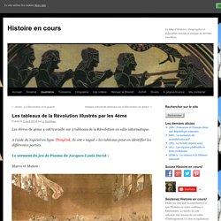 Les tableaux de la Révolution illustrés par les 4ème