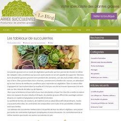 Les tableaux de succulentes - Le blog Arrée Succulentes