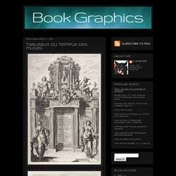 Tableaux du temple des muses - Book Graphics