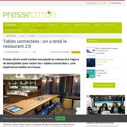 Tables connectées : on a testé le restaurant 2.0