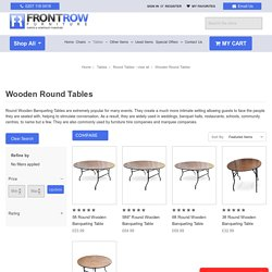 Round Wooden Table at Best Prices in UK