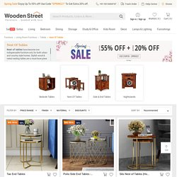 Nest of Tables: Buy Wood & Metal Nesting Tables Online in India @ Upto 55% OFF