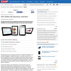 Tablet-PCs im Business-Einsatz - Business - CHIP Online